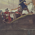 Walking the Plank Print by Howard Pyle