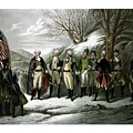 Washington and His Generals  Print by War Is Hell Store