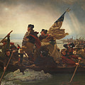 Washington Crossing The Delaware Print by War Is Hell Store