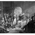 Washington Meeting His Generals Print by War Is Hell Store