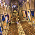 Washington National Cathedral IV Print by Irene Abdou