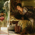 Welcome Footsteps Print by Sir Lawrence Alma-Tadema