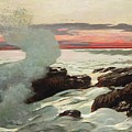 West Point Prouts Neck Poster by Winslow Homer