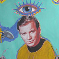 What would Captain Kirk Do Print by Mike  Mitch