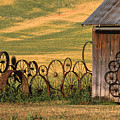 Wheels of the Palouse Poster by Sandra Bronstein