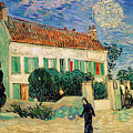 White House at Night Poster by Vincent Van Gogh