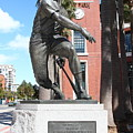 Willie Mays at San Francisco Giants ATT Park . 7D7636 Print by Wingsdomain Art and Photography