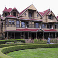 WINCHESTER MYSTERY HOUSE Print by Daniel Hagerman