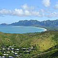 Windward Oahu Panorama III Print by David Cornwell/First Light Pictures, Inc - Printscapes
