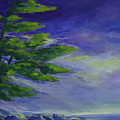 Windy Lake Superior Poster by Joanne Smoley