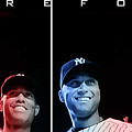 Yankee Core Four by GBS Poster by Anibal Diaz