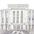 Yankee Stadium Poster by Juliana Dube