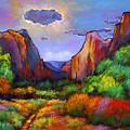 Zion Dreams Print by JOHNATHAN HARRIS