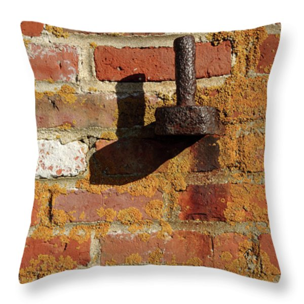 Fort Constitution - New Castle New Hampshire Throw Pillow by Erin Paul Donovan