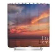 Good Morning Cape Cod Shower Curtain by Susan Candelario